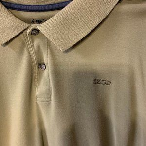 Men's Izod Golf Polo Shirt XXL Short Sleeve Shirt